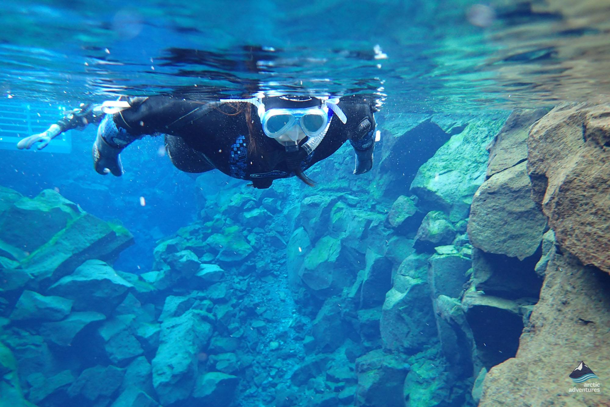 Tours to do in bad weather: Snorkeling in Silfra