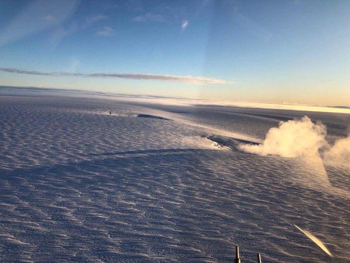 bardabunga volcano iceland