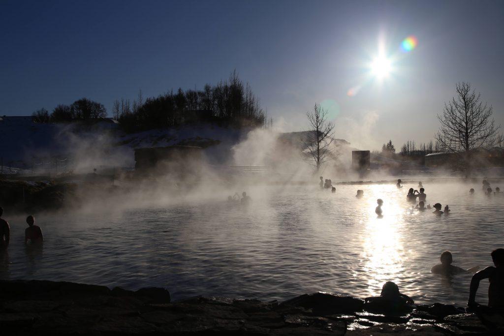 Damian Moore - Secret Lagoon Iceland