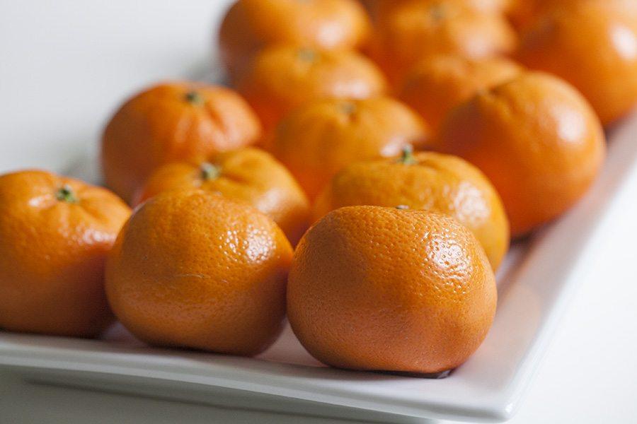Mandarins in Iceland