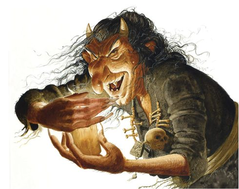 gryla the mother of the yule lads