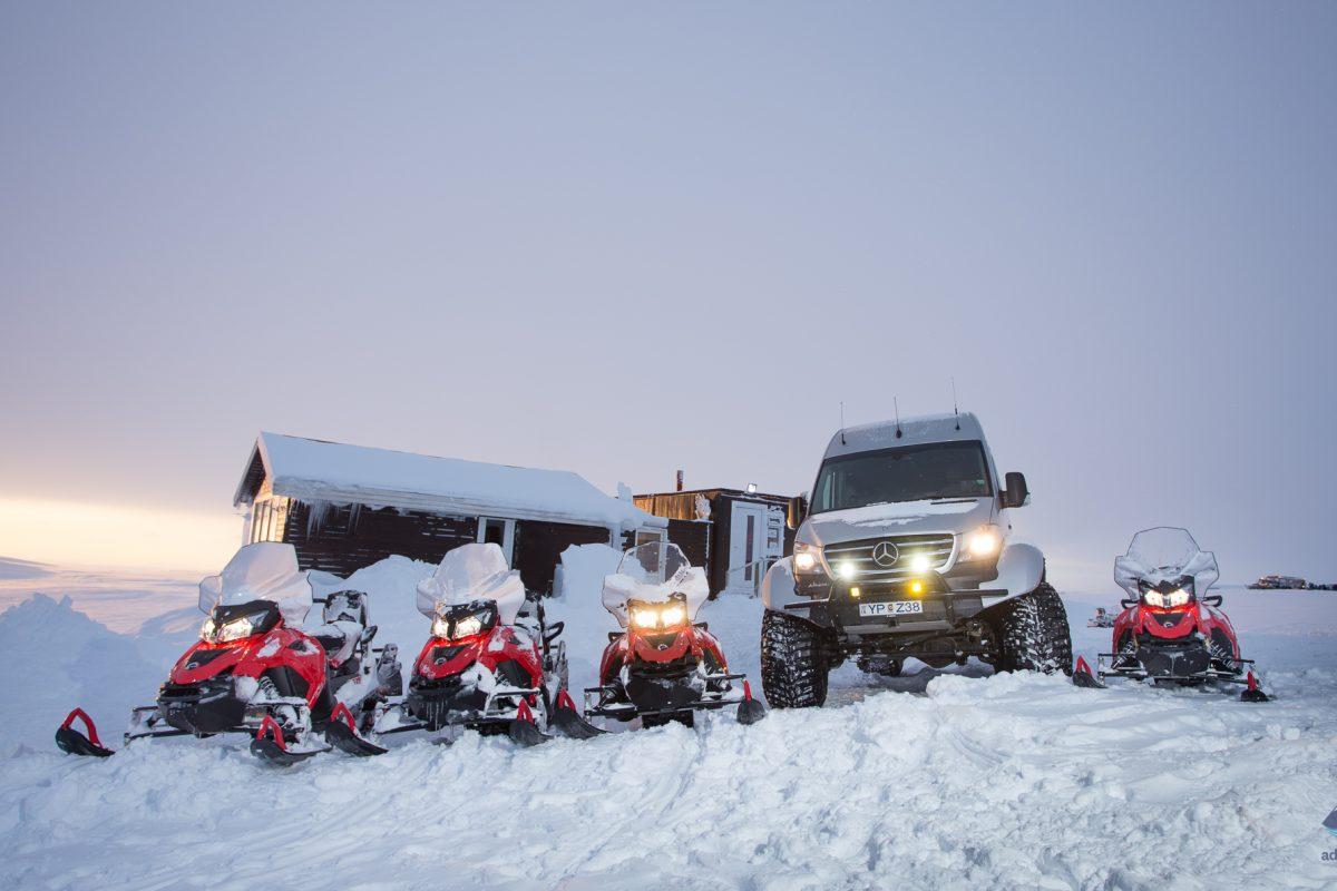 Snowmobiling-Langjokull-Glacier-Iceland