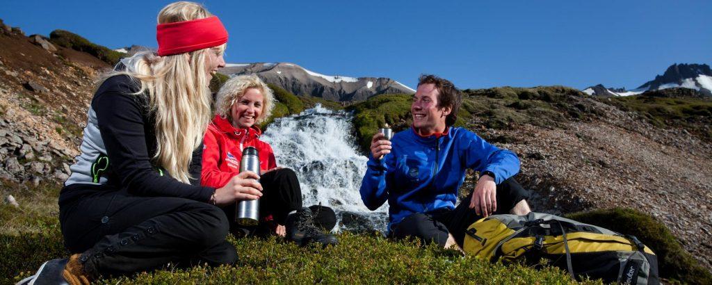 Trekking and hiking iceland