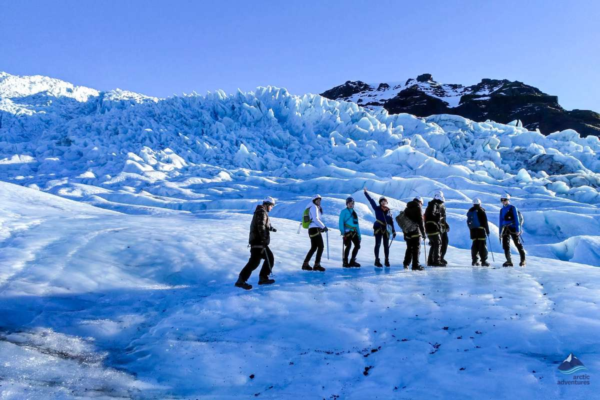 Glacier Hiking tour in Skaftafell