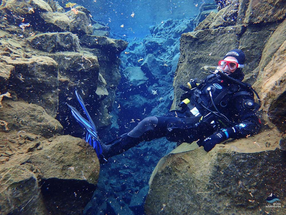 Silfra fissure diving