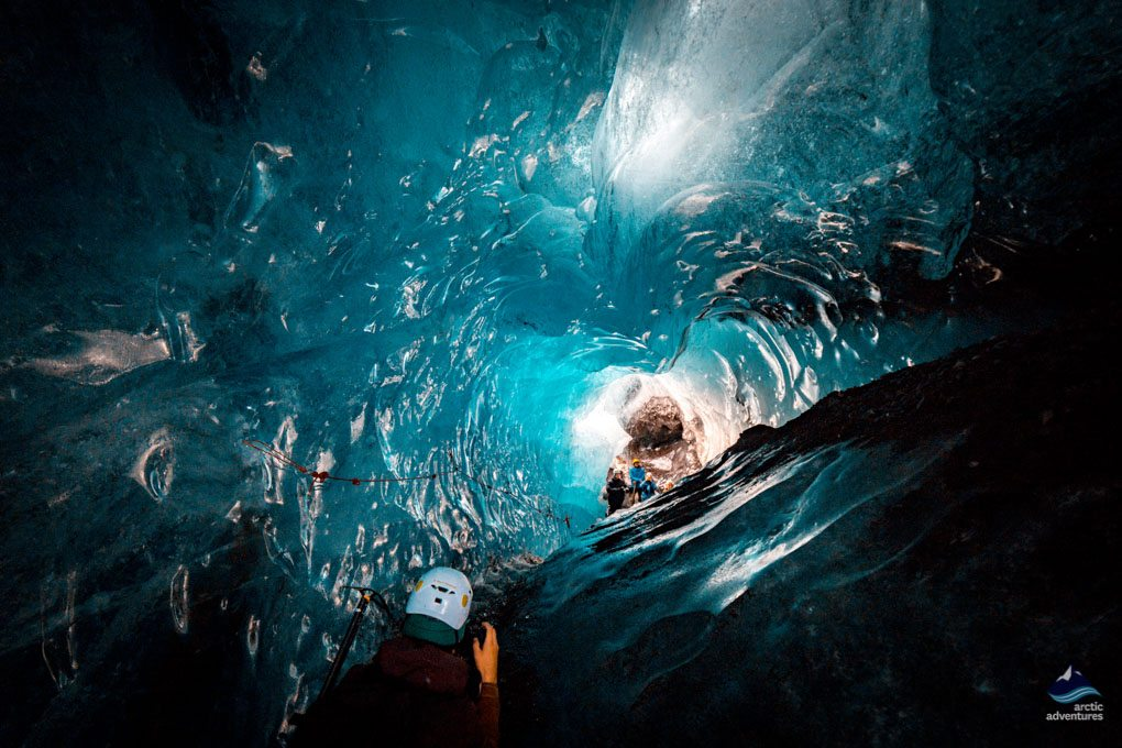 Into the Glacier Natural Ice Cave