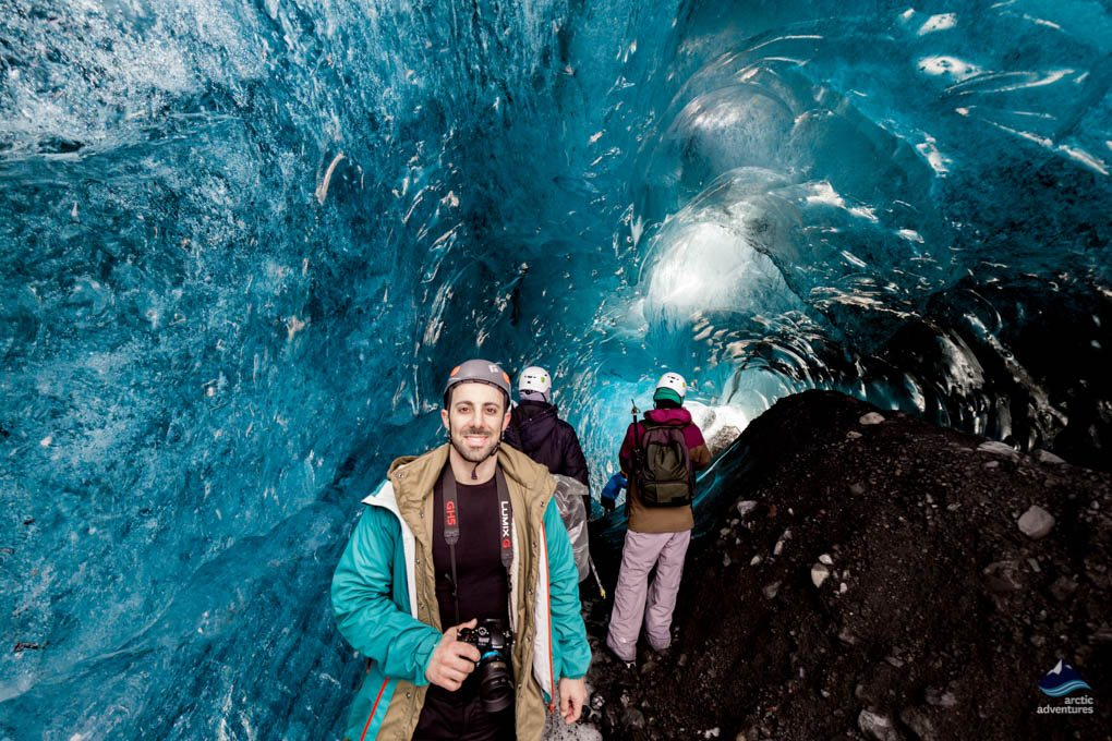 Into the Glacier Natural Ice Cave