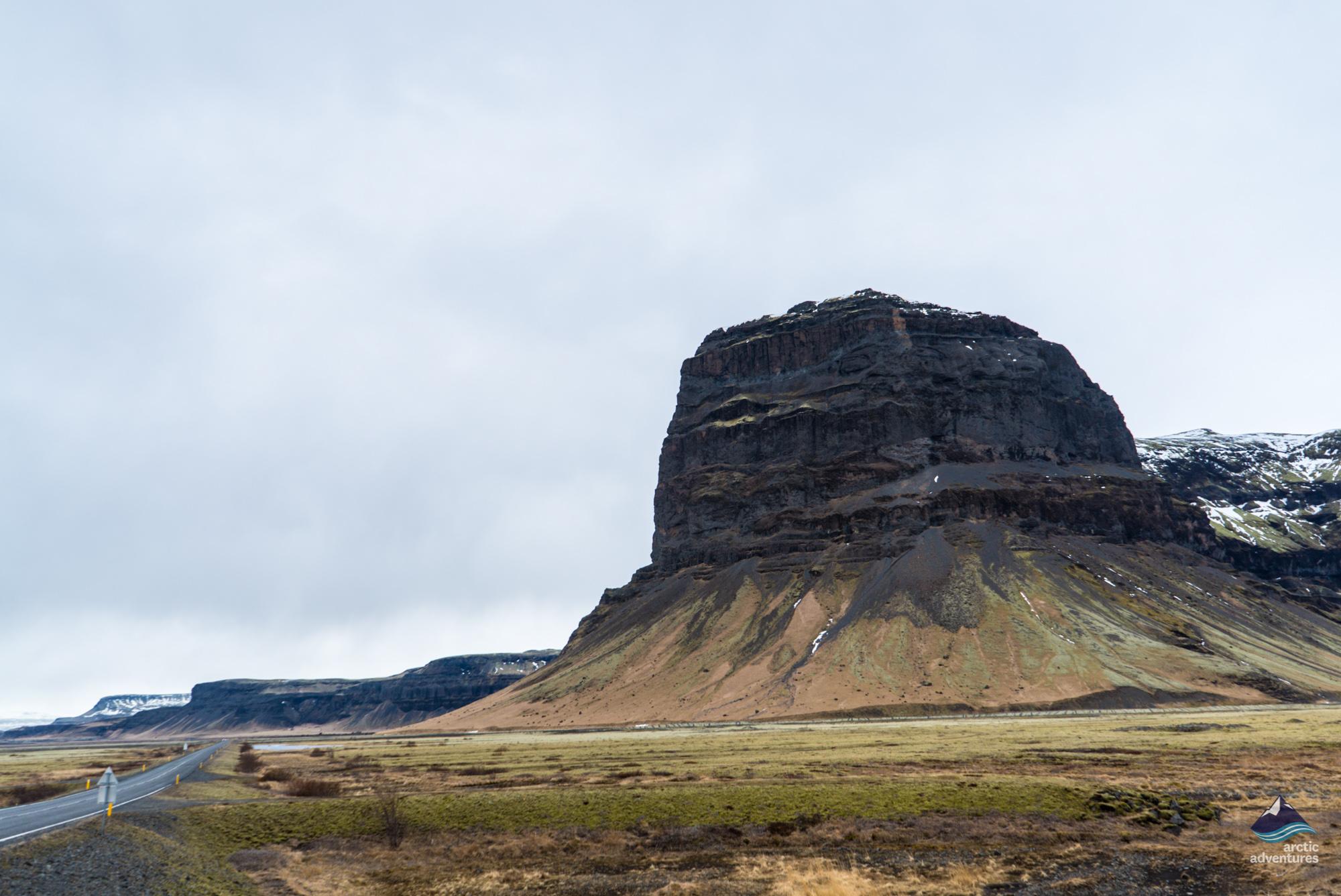 Road from Skaftafell to Reykjavík