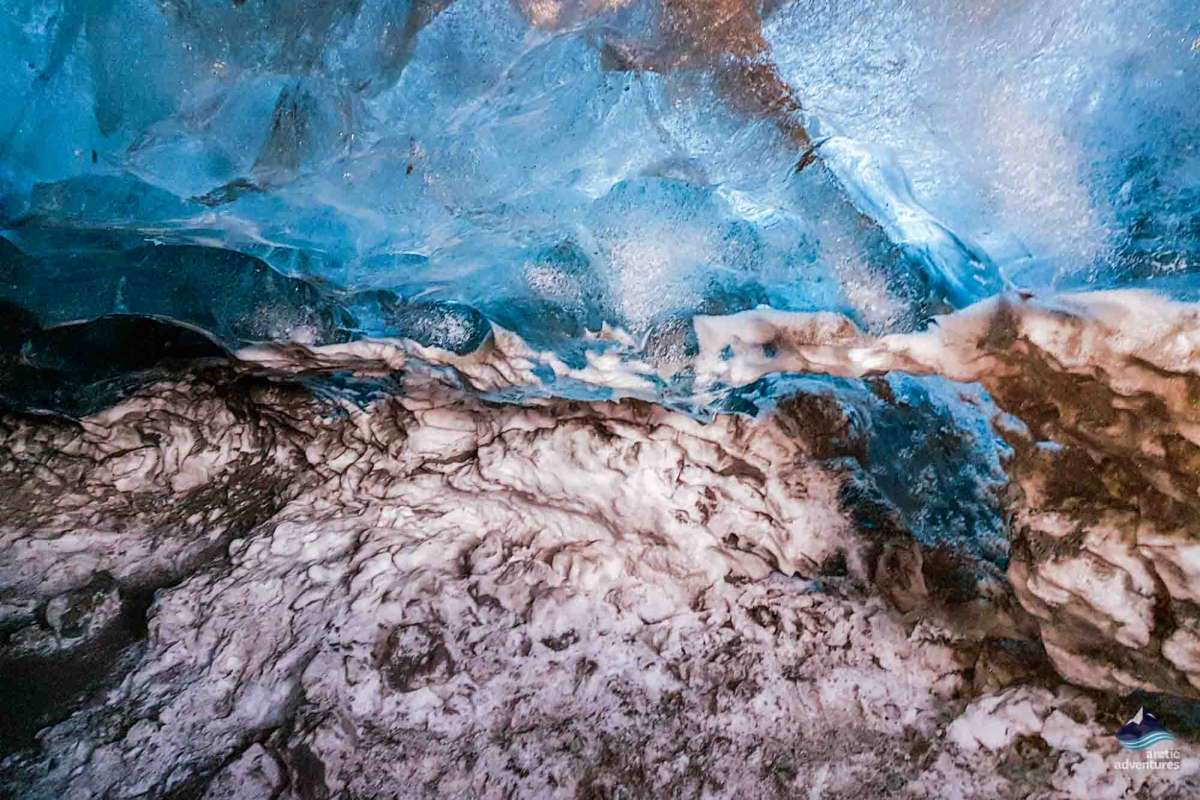 Natural Crystal Ice Cave Iceland