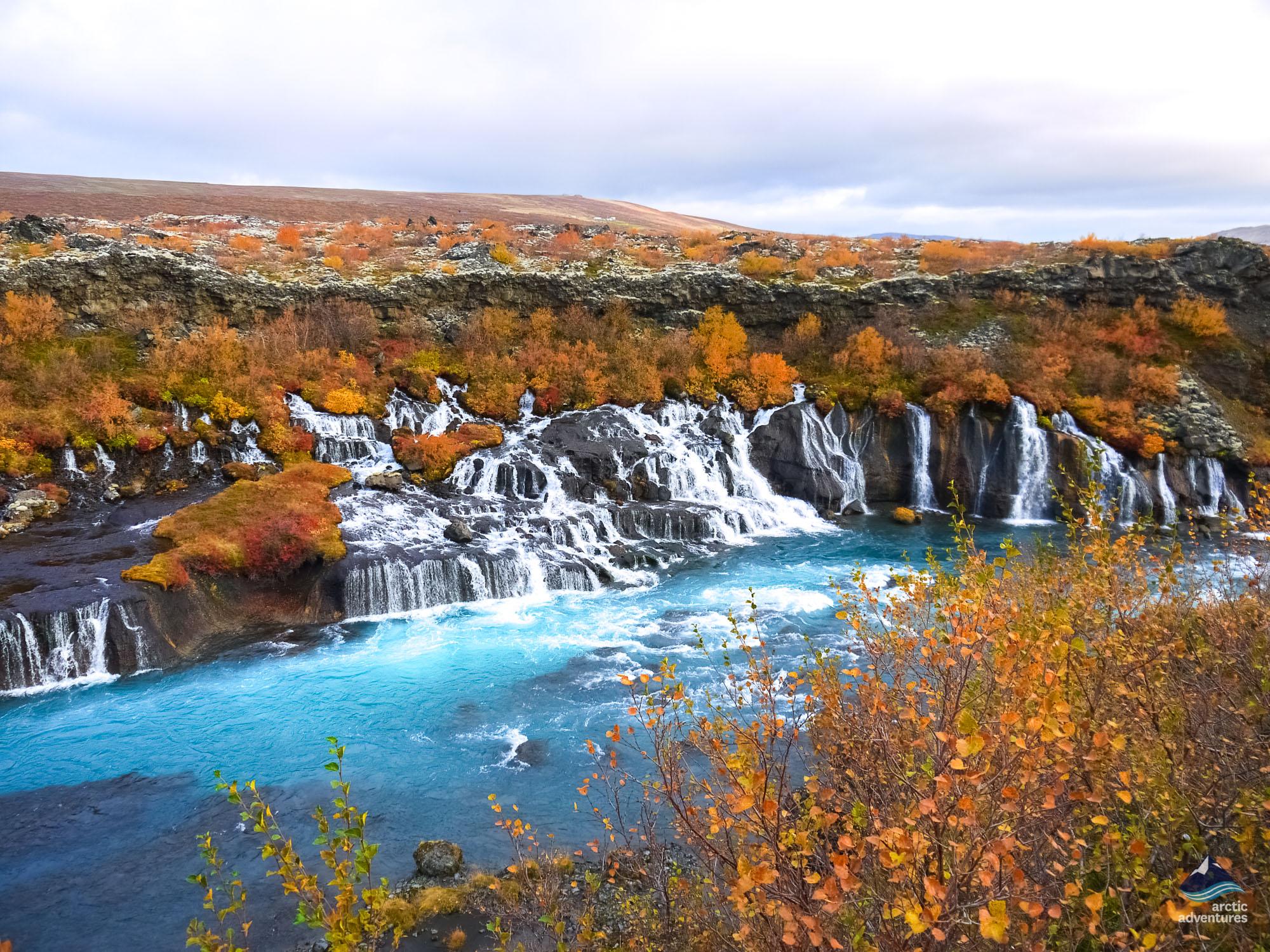 Hraunfossar-Snaefellnes-Iceland