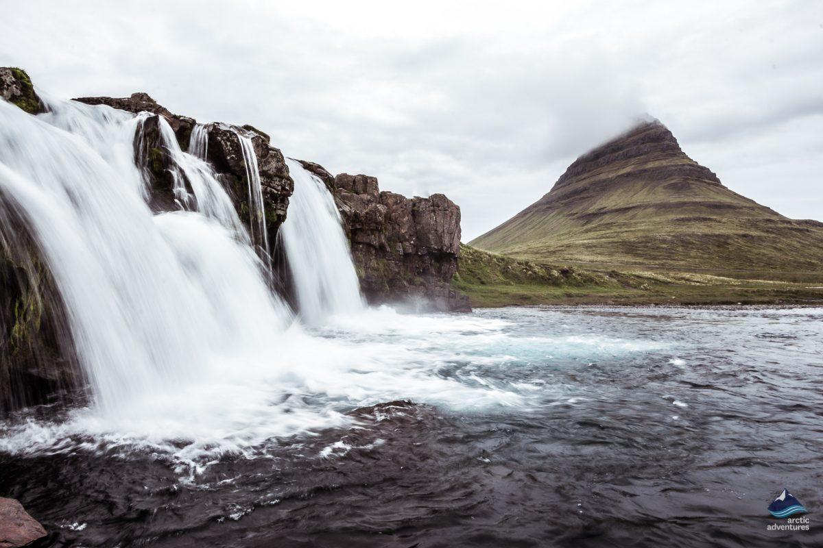 Kirkjufell mountain over Grundarfjordur