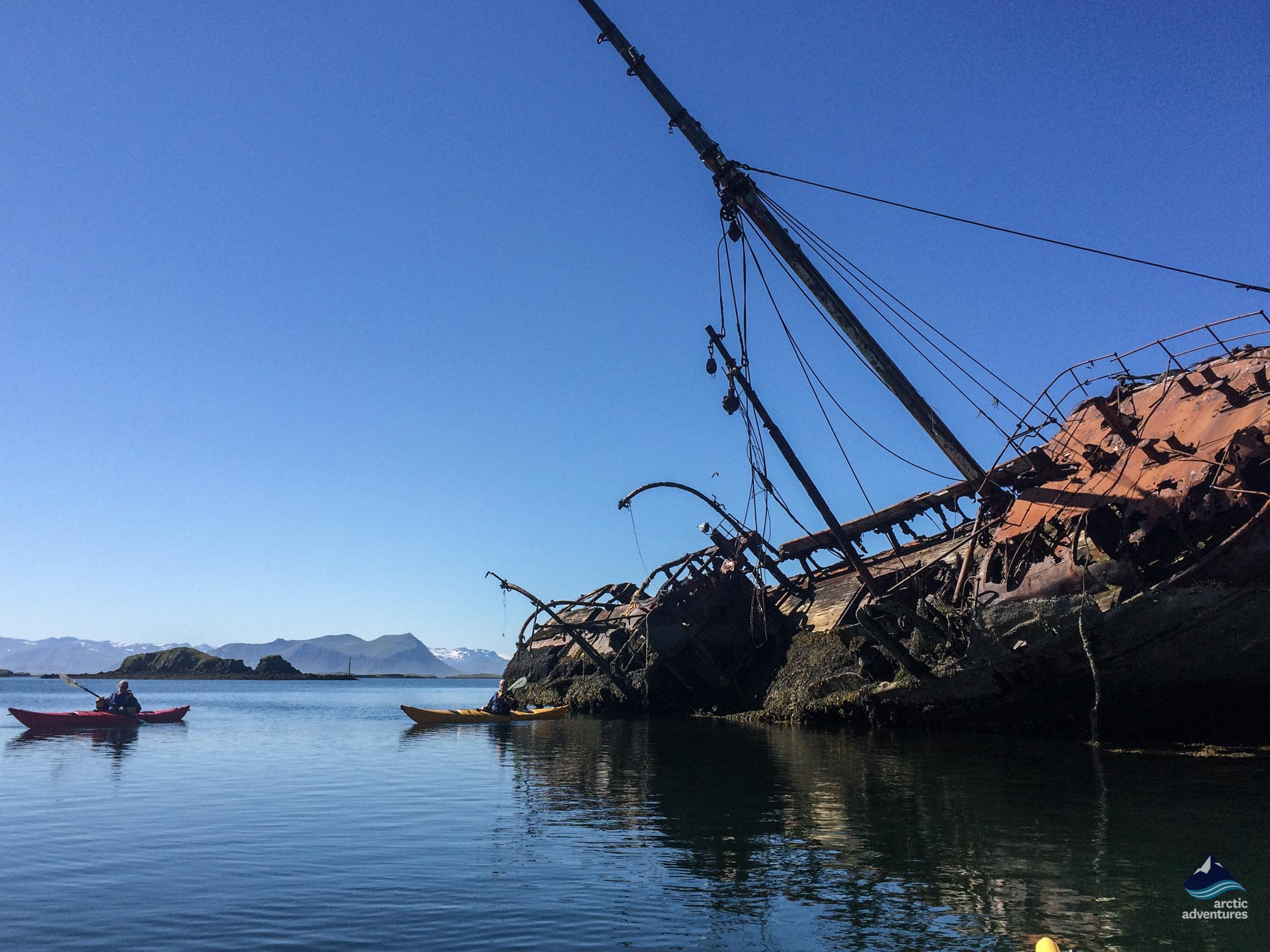 shipwreck on the snaefellsnes peninsula