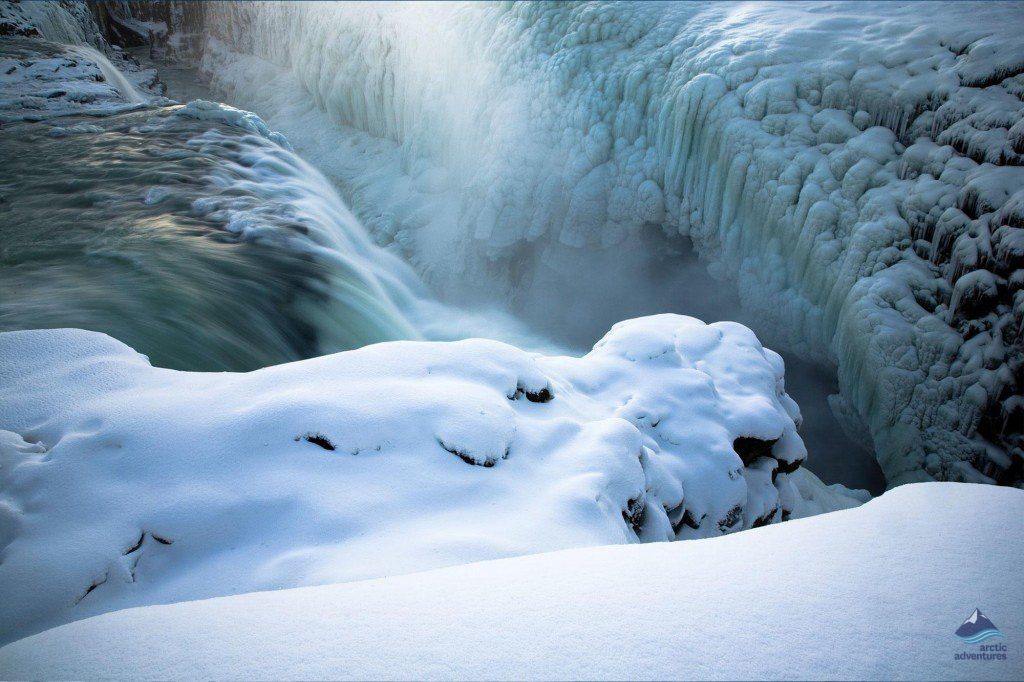 Gullfoss-waterfall-Winter-Iceland