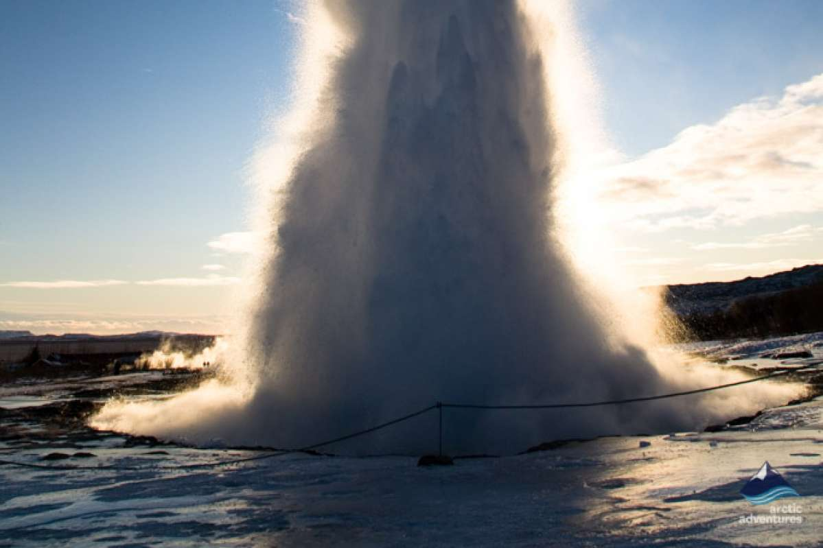 Geysir - Golden Circle - Iceland