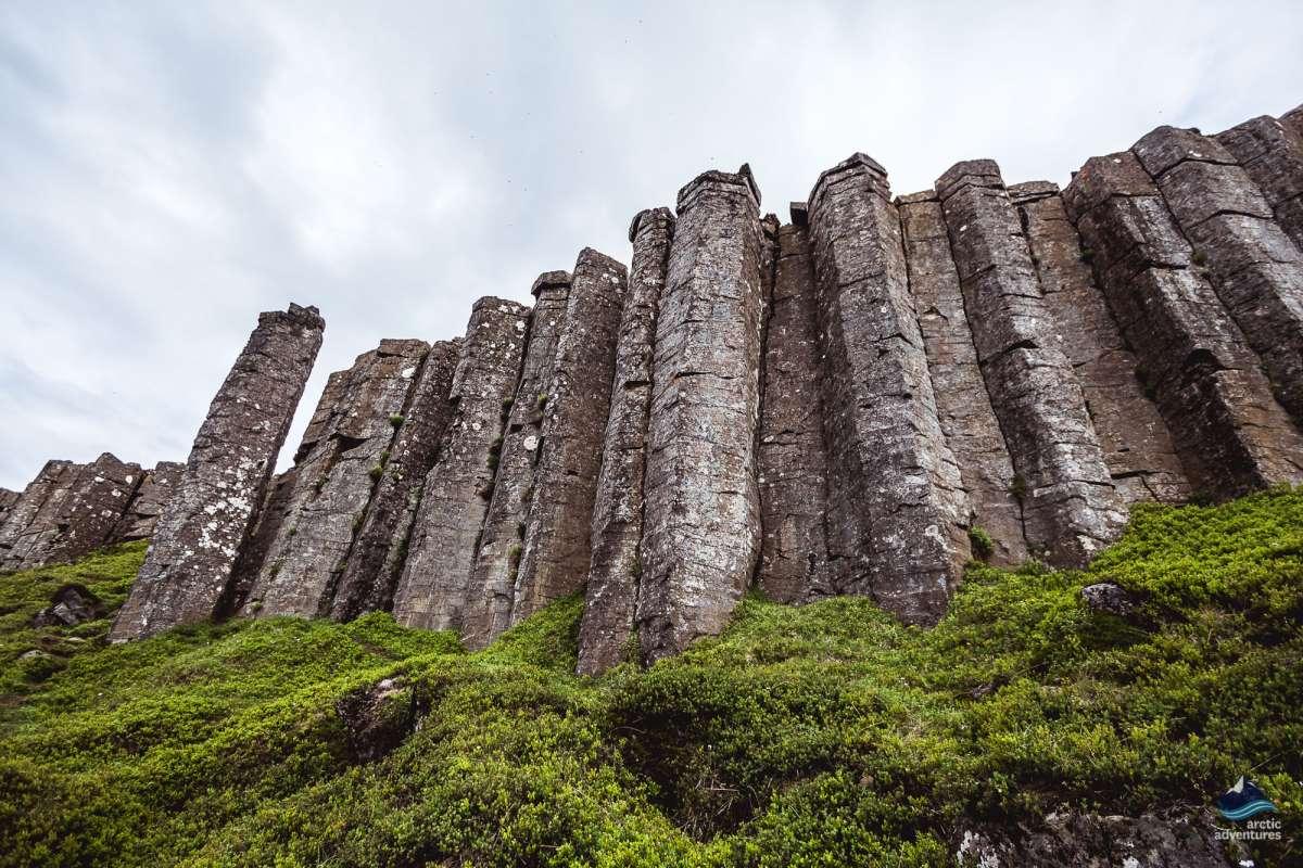 Gerduberg-bastalt-columns-Snaefellsnes-Iceland