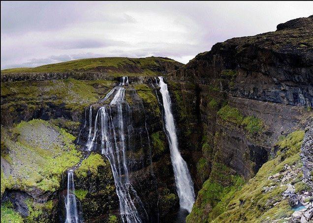 Glymur-waterfall-Hike-Iceland
