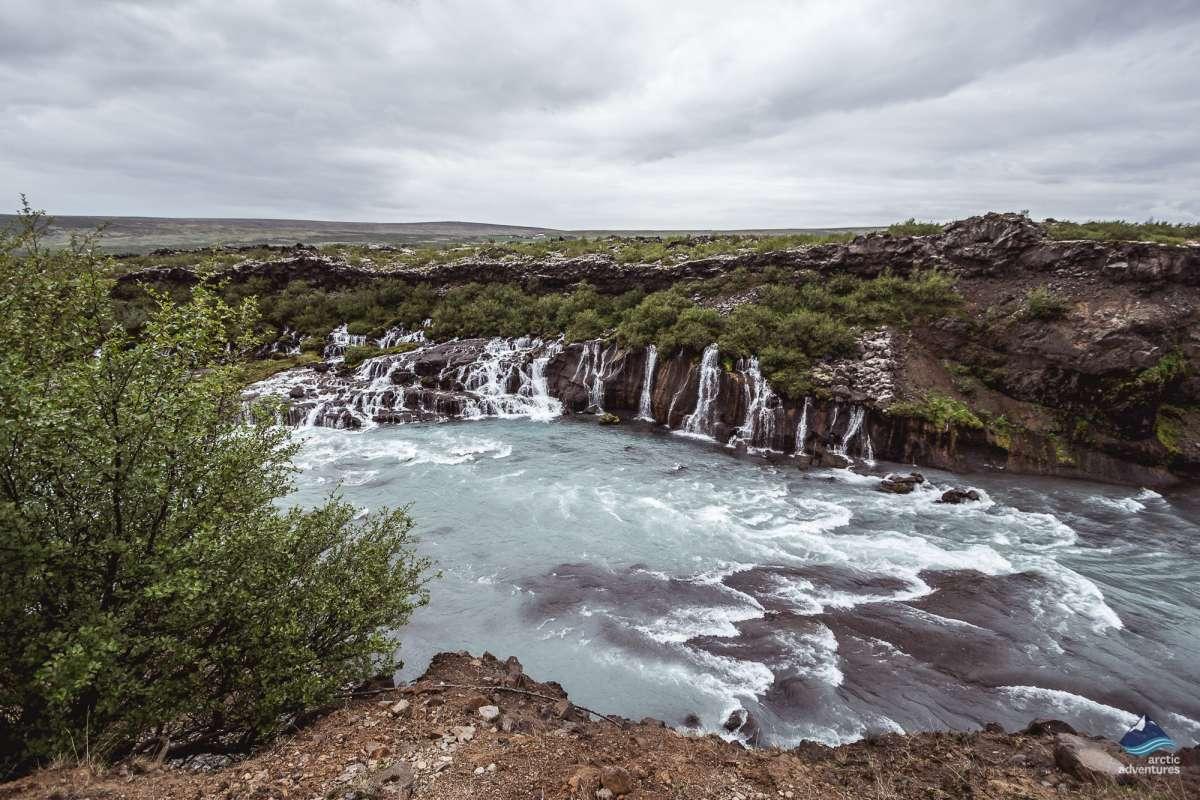 Hraunfossar-Snaefellsnes-West-Iceland