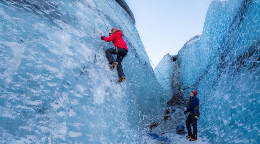Glacier Hiking Amp Ice Climbing Day Tours Arctic Adventures