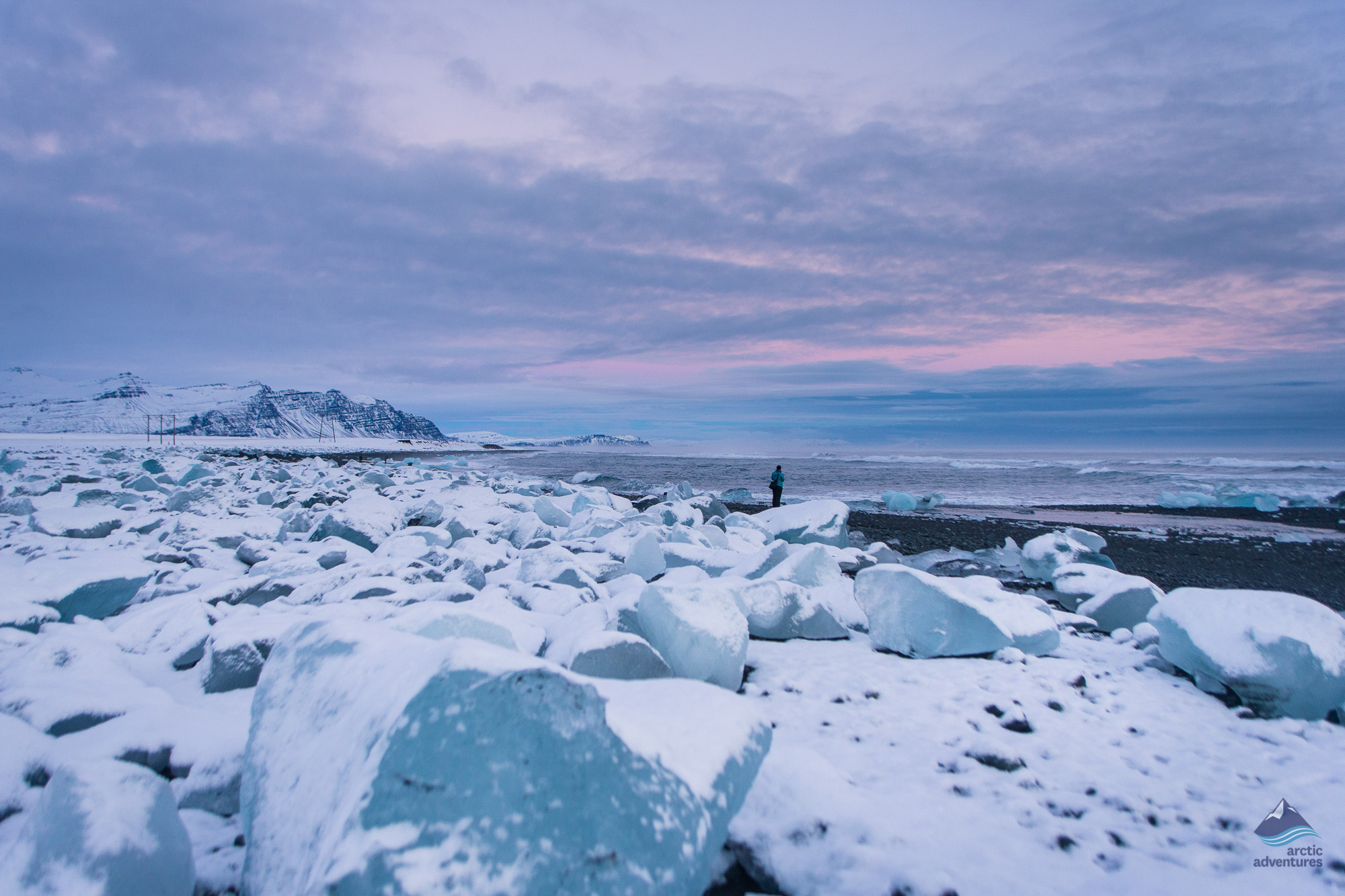 Jokulsarlon glacier lagon Iceland bridge
