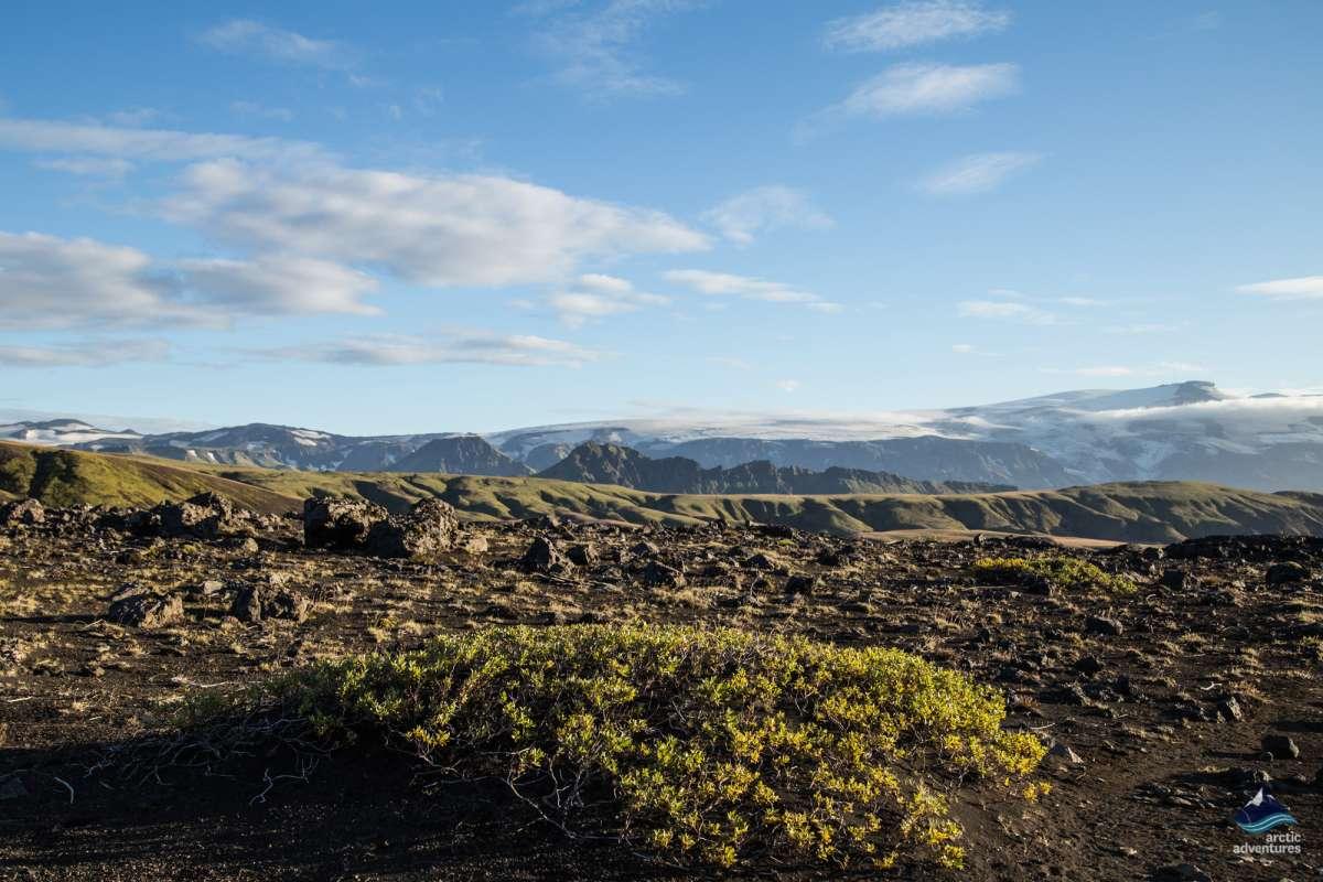 Laugavegur-trek-trail-Iceland