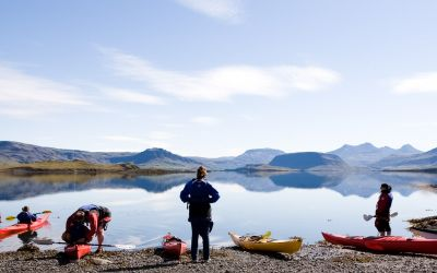 Sea Kayaking tour Iceland