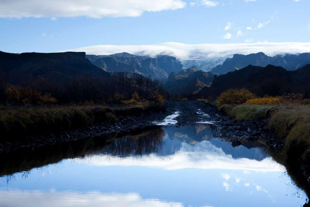 Thorsmork-lake-Hiking-Iceland