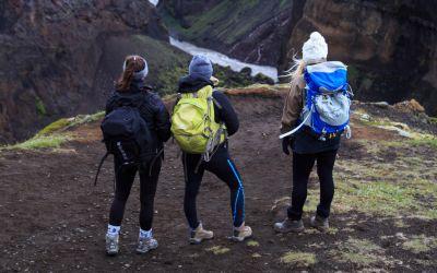 Canyon Thorsmork Laugavegur Trek Iceland