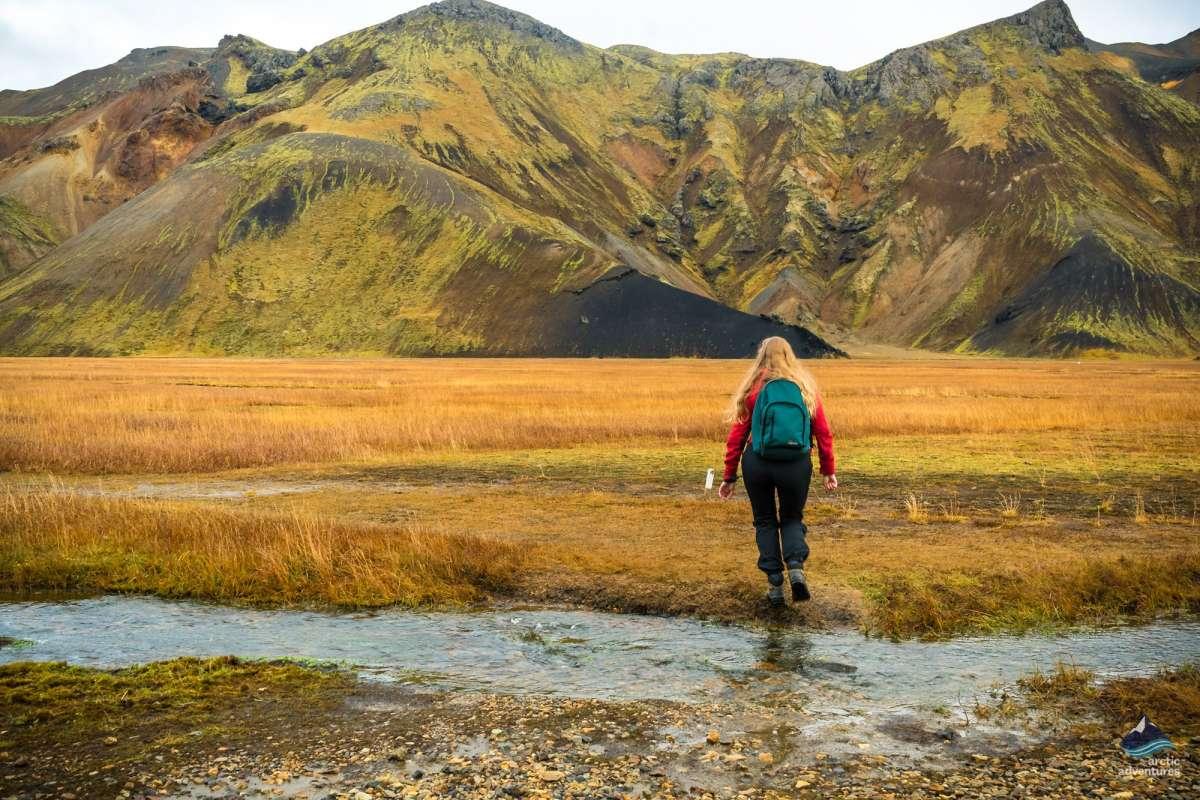 Iceland-Landmannalaugar- Laugavegur-hike-trekking