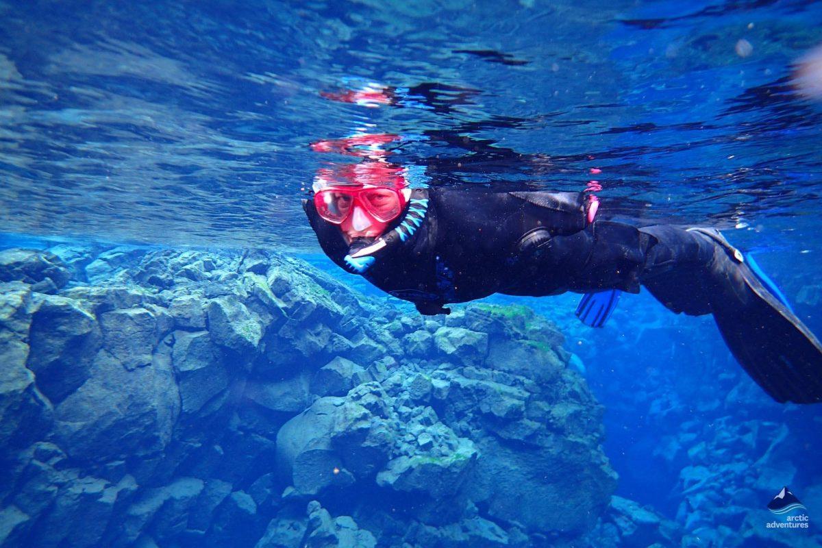 Silfra Snorkeling & Caving  Day Tour  Arctic Adventures