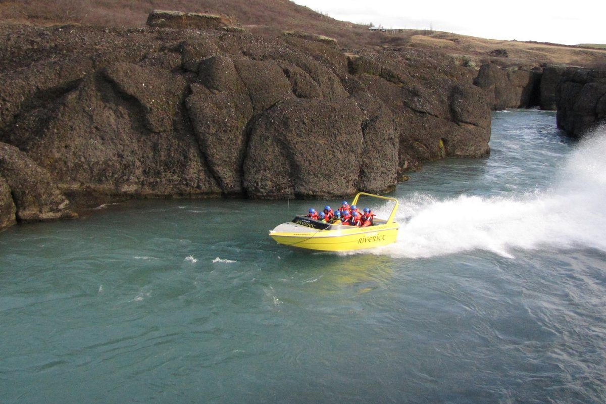 Boat tour in Iceland