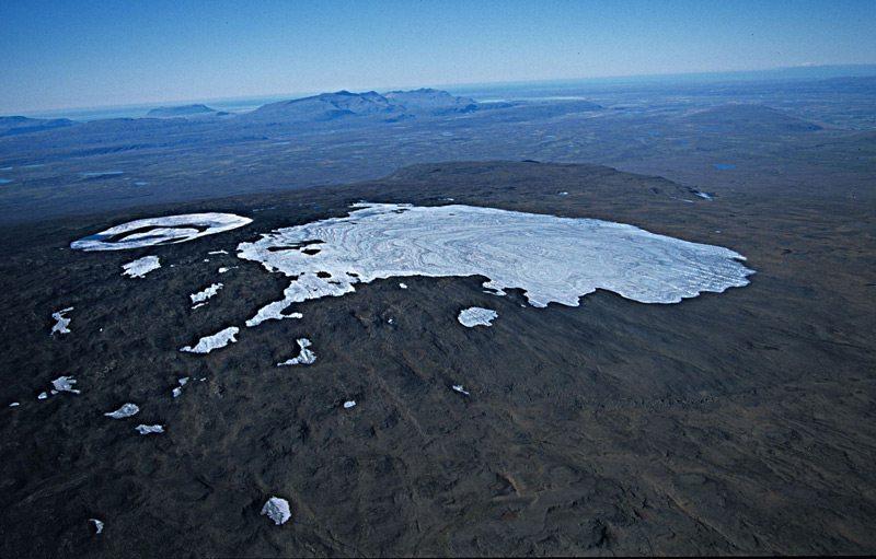 okjokull glacier iceland
