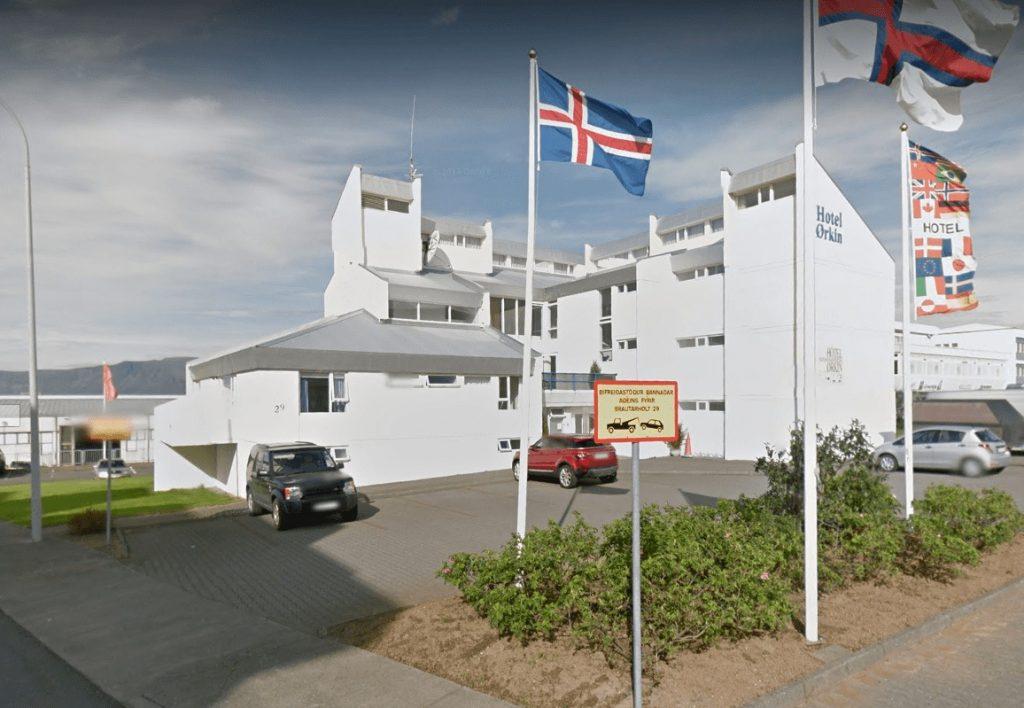 Hotel Orkin Reykjavik Iceland
