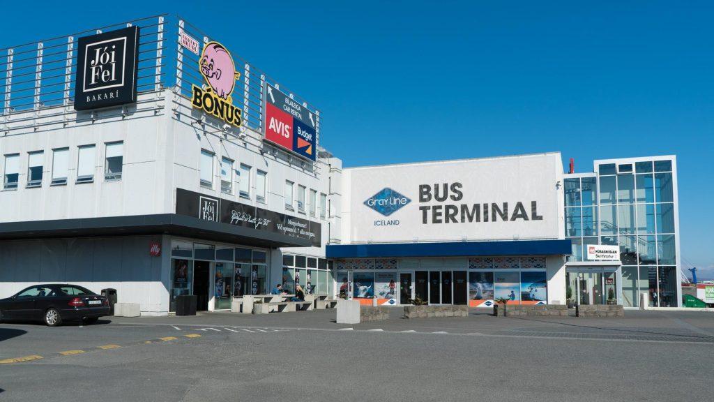 Pick up location - Greyline Main Bus Terminal on Holtagardar