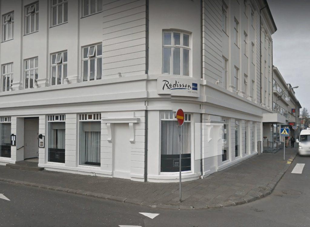 Radison blue 1919 hotel Reykjavik