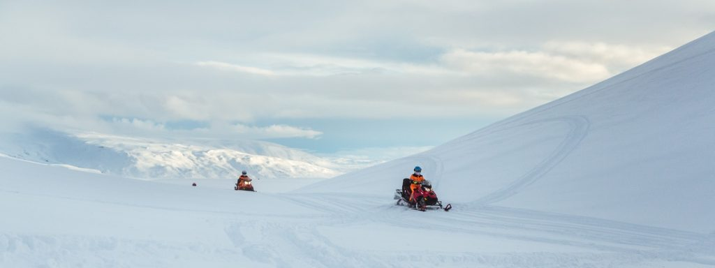 Snowmobile-Iceland
