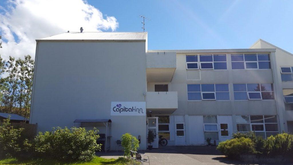 Capital inn hotel Iceland