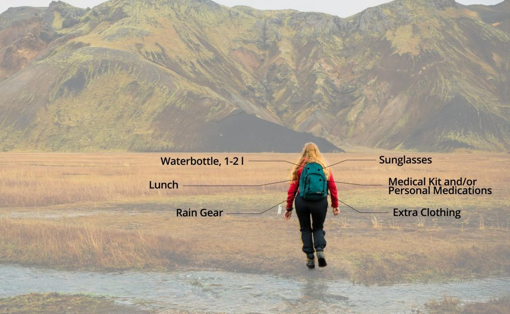 What to pack in hiking backpack