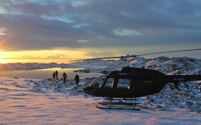 Helicopter tour Iceland