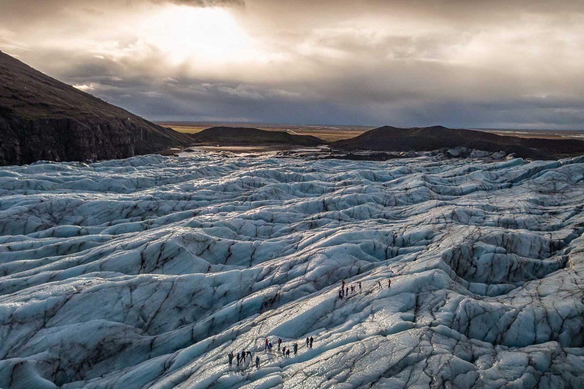 Svinafellsjokull glacier Iceland