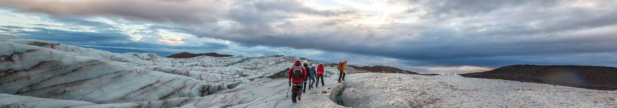 Ultimate Icescape Glacier hike