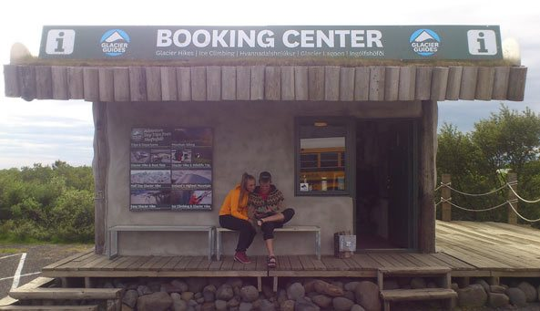 Glacier Guides Booking Center in Skaftafell