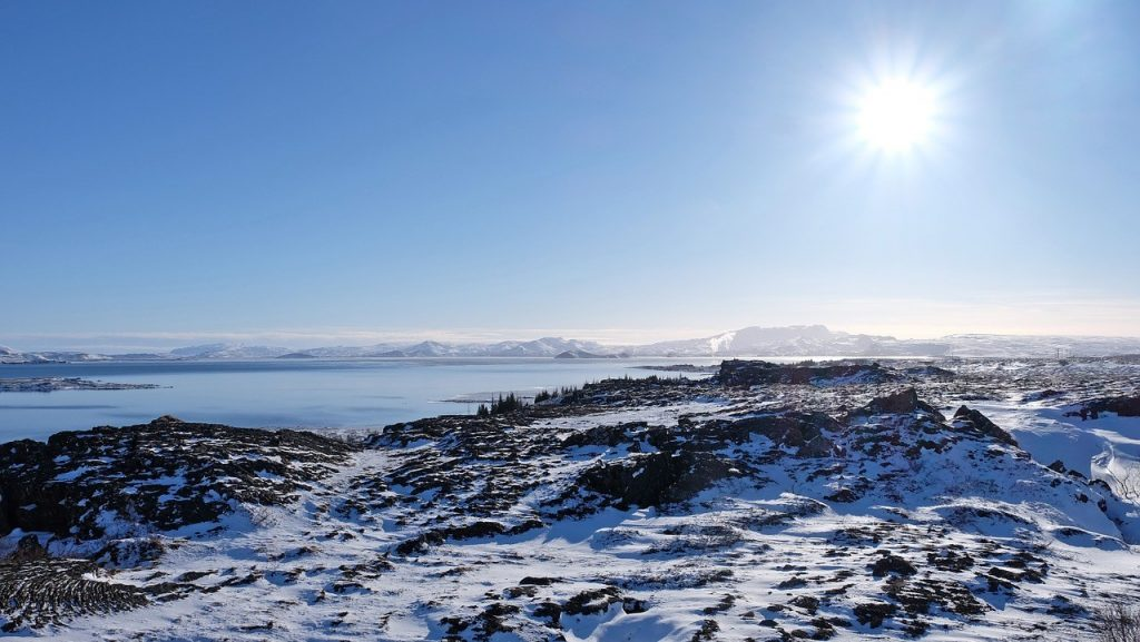 Thingvellir Winter overview