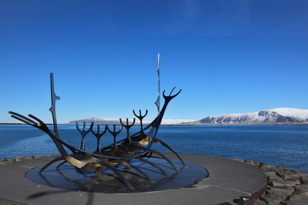 Sun Voyager in Reykjavik Iceland