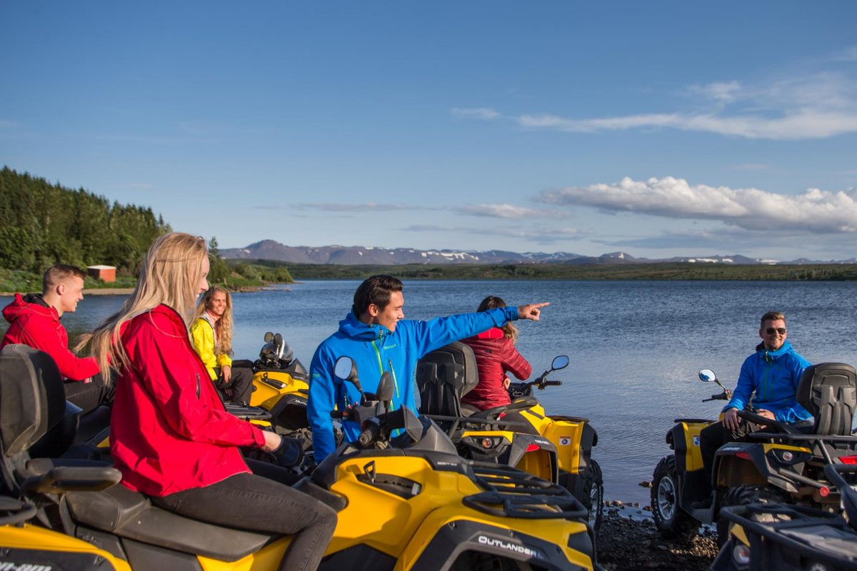 atv tour in iceland 1
