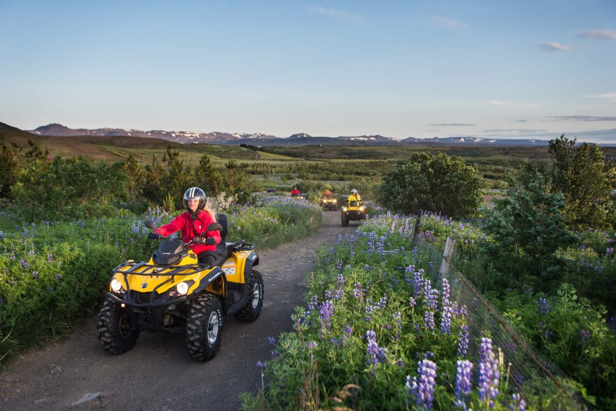 atv tour in iceland