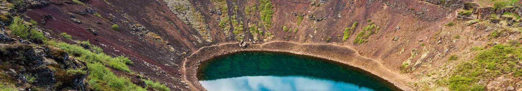 Kerið Kerið Volcanic Crater in Iceland