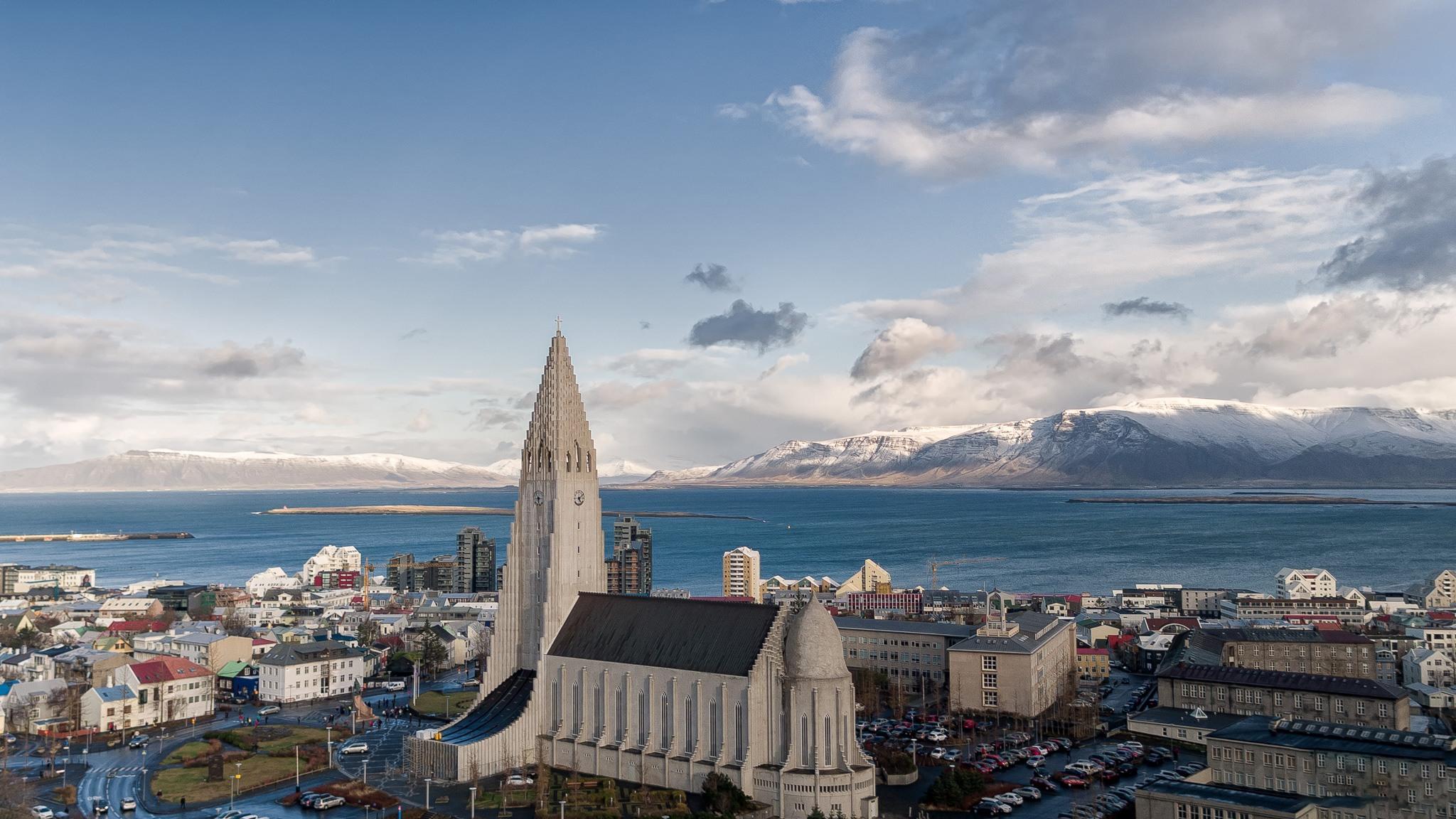 City of Reykjavik-Hallgrimskirkja