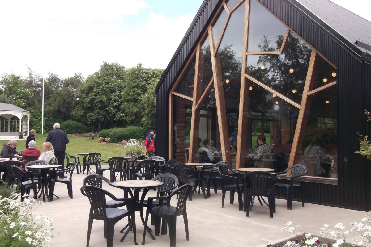 Stunning coffee shop in Akureyrii