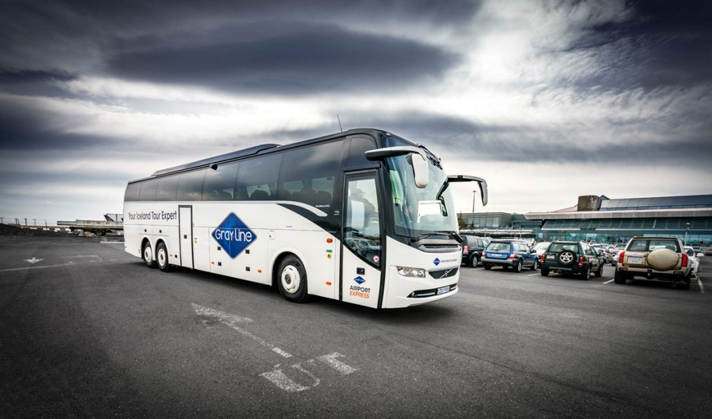 Grayline bus