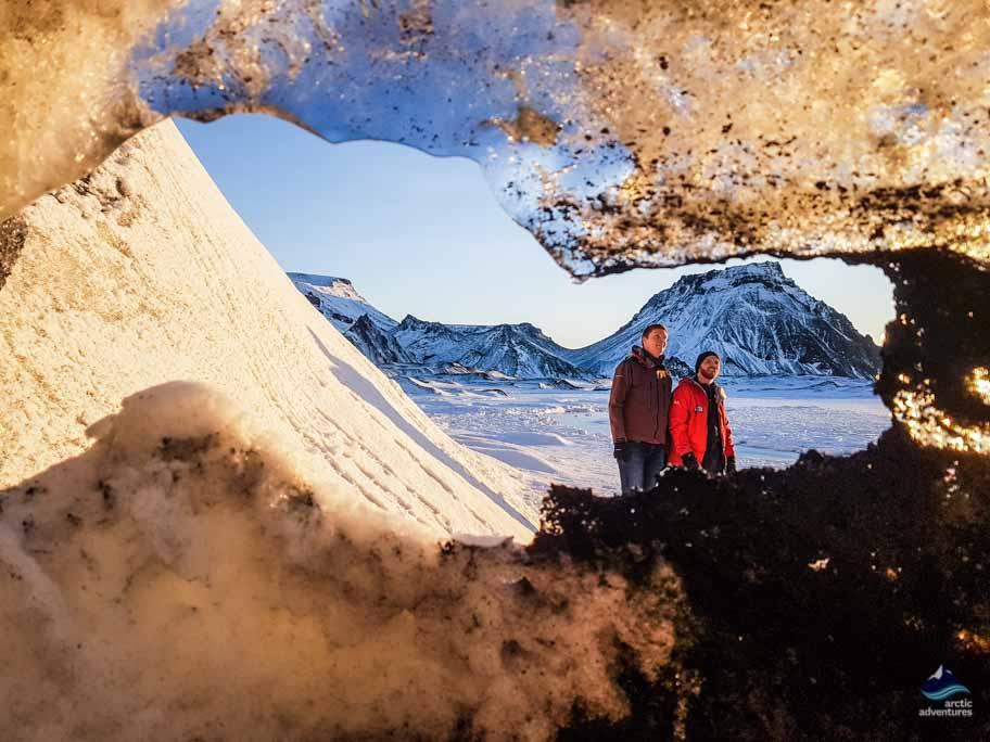 Exploring the Myrdalsjokull area